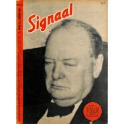 0996-No. H8-1943 SIGNAAL / SIGNAL Holland Dutch - illustrated german magazineChurchill, Ghandi, Wehrmacht, soldiers