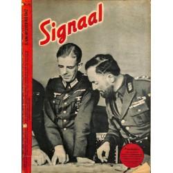 1000-No. H12-1942 SIGNAAL / SIGNAL Holland Dutch - illustrated german magazineAtlantic, Wehrmacht, Africa DAK