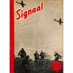 1004	-No.	 H	15-1942	 SIGNAAL / SIGNAL Holland Dutch - illustrated german magazine	Goethe, artillery tanks