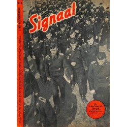 1082	-No.	 H	10-1943	SIGNAAL / SIGNAL Holland Dutch - illustrated german magazine	TIGER tank, Wehrmacht WWII soldiers