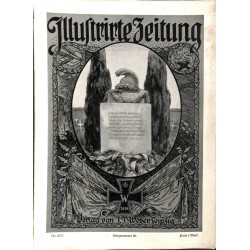 1122 ILLUSTRIRTE ZEITUNG	 No.  	3777	 Kriegsnummer 		18.November 1915		, size: 42, x 30,5 cm 	WWI, war reports, nice picture