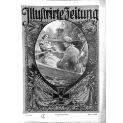 1127	 ILLUSTRIRTE ZEITUNG	 No.  	3814	 Kriegsnummer 		- 3.August 1916		, size: 42, x 30,5 cm 	WWI, war reports, nice picture