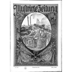 1136	 ILLUSTRIRTE ZEITUNG	 No.  	3840	 Kriegsnummer 		- 1.Februar 1917		, size: 42, x 30,5 cm 	WWI, war reports, nice picture