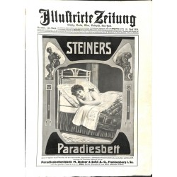 1140	 ILLUSTRIRTE ZEITUNG	 No.  	3695			- 23.April 1914		, size: 42, x 30,5 cm 	WWI, war reports, nice picture, amazing ads