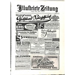 1141	 ILLUSTRIRTE ZEITUNG	 No.  	3851	 Kriegsnummer 		- 19.April 1917		, size: 42, x 30,5 cm 	WWI, war reports, nice picture