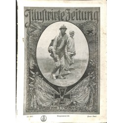 1142	 ILLUSTRIRTE ZEITUNG	 No.  	3867	 Kriegsnummer 		- 9.August 1917		, size: 42, x 30,5 cm 	WWI, war reports, nice picture