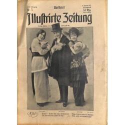 1269 preWWI-No. 1-1914 BERLINER ILLUSTRIRTE ZEITUNG German illustrated magazineJanuary 4 1914Berliner Illustrirte Zeitung