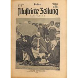 1270 preWWI-No. 2-1914 BERLINER ILLUSTRIRTE ZEITUNG German illustrated magazineJanuary 11 1914