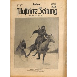 1271 preWWI-No. 3-1914 BERLINER ILLUSTRIRTE ZEITUNG German illustrated magazineJanuary 18 1914