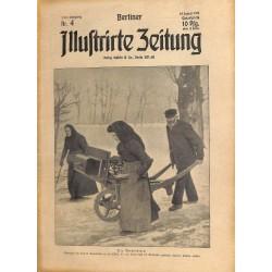 1272 preWWI-No. 4-1914 BERLINER ILLUSTRIRTE ZEITUNG German illustrated magazineJanuary 25 1914