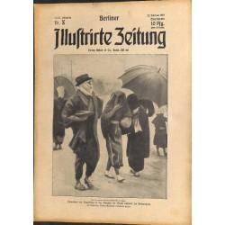 1276 preWWI-No. 8-1914 BERLINER ILLUSTRIRTE ZEITUNG German illustrated magazineFebruary 22 1914