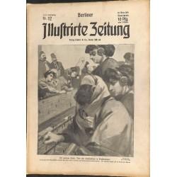 1280 preWWI-No. 12-1914 BERLINER ILLUSTRIRTE ZEITUNG German illustrated magazineMarch 22 1914