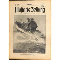 1285 preWWI-No. 17-1914 BERLINER ILLUSTRIRTE ZEITUNG German illustrated magazineApril 26 1914