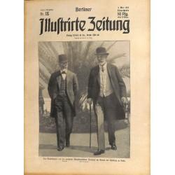 1286 Pancho Villa Mexico preWWI-No. 18-1914 BERLINER ILLUSTRIRTE ZEITUNG German illustrated magazineMay 3 1914