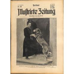 1287 preWWI-No. 19-1914 BERLINER ILLUSTRIRTE ZEITUNG German illustrated magazineMay 10 1914