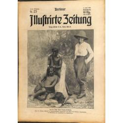 1291 preWWI-No. 23-1914 BERLINER ILLUSTRIRTE ZEITUNG German illustrated magazineJune 7 1914