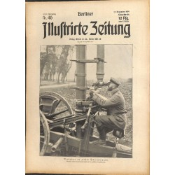 1314 WWI -No. 46-1914 BERLINER ILLUSTRIRTE ZEITUNG German illustrated magazineNovember 15 1914