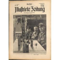 1315 WWI -No. 47-1914 BERLINER ILLUSTRIRTE ZEITUNG German illustrated magazineNovember 22 1914