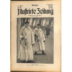 1317 WWI -No. 49-1914 BERLINER ILLUSTRIRTE ZEITUNG German illustrated magazineDecember 6 1914