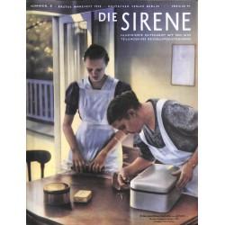 1597 DIE SIRENE No. 2-1939- Reichsluftschutzbund - RLB - Luftschutz magazine civil protection, firefighting, air raids