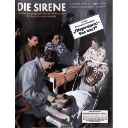 1615 DIE SIRENE No. 2-1939- Reichsluftschutzbund - RLB - Luftschutz magazine civil protection, firefighting, air raids