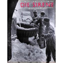 1623 DIE SIRENE No. 2-1940- Reichsluftschutzbund - RLB - Luftschutz magazine civil protection, firefighting, air raids