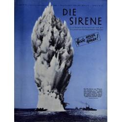 1626 DIE SIRENE No. 2-1940- Reichsluftschutzbund - RLB - Luftschutz magazine civil protection, firefighting, air raids