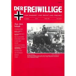 2007127 No. 10-1989 DER FREIWILLIGE - Waffen-SS veteran magazine -