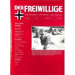 2007128 No. 11-1989 DER FREIWILLIGE - Waffen-SS veteran magazine -