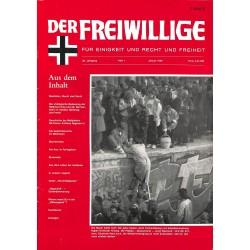 2007129 No. 1-1990 DER FREIWILLIGE - Waffen-SS veteran magazine - r
