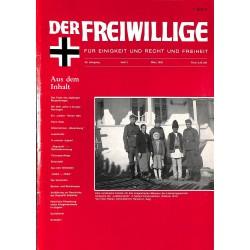 2007130 No. 3-1990 DER FREIWILLIGE - Waffen-SS veteran magazine -