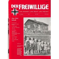 2007131 No. 4-1990 DER FREIWILLIGE - Waffen-SS veteran magazine -