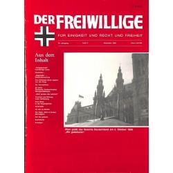 2007135 No. 11-1990 DER FREIWILLIGE - Waffen-SS veteran magazine -