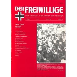 2007136 No. 12-1990 DER FREIWILLIGE - Waffen-SS veteran magazine -
