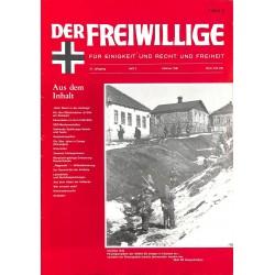 2007137 No. 2-1991 DER FREIWILLIGE - Waffen-SS veteran magazine -