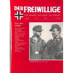 2007138 No. 5-1991 DER FREIWILLIGE - Waffen-SS veteran magazine -