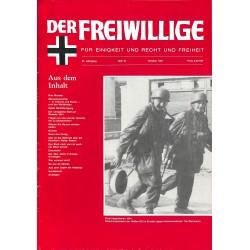 2007139 No. 10-1991 DER FREIWILLIGE - Waffen-SS veteran magazine -