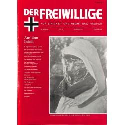 2007140 No. 12-1991 DER FREIWILLIGE - Waffen-SS veteran magazine -
