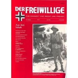 2007145 No. 6-1992 DER FREIWILLIGE - Waffen-SS veteran magazine -