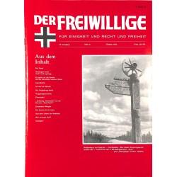 2007147 No. 10-1992 DER FREIWILLIGE - Waffen-SS veteran magazine -