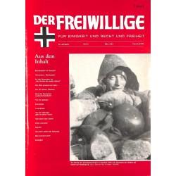 2007148 No. 3-1993 DER FREIWILLIGE - Waffen-SS veteran magazine -