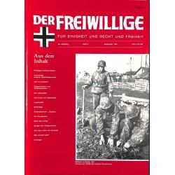 2007149 No. 9-1993 DER FREIWILLIGE - Waffen-SS veteran magazine -