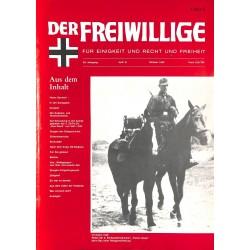 2007150 No. 10-1993 DER FREIWILLIGE - Waffen-SS veteran magazine -