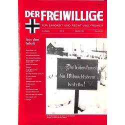2007152 No. 12-1993 DER FREIWILLIGE - Waffen-SS veteran magazine -