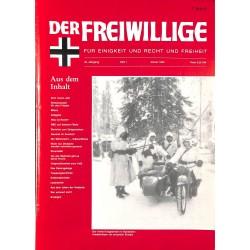2007153 No. 1-1994 DER FREIWILLIGE - Waffen-SS veteran magazine -