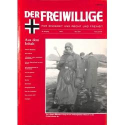 2007155 No. 3-1994 DER FREIWILLIGE - Waffen-SS veteran magazine -