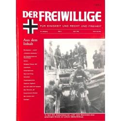 2007156 No. 4-1994 DER FREIWILLIGE - Waffen-SS veteran magazine -