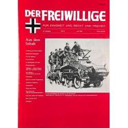 2007158 No. 6-1994 DER FREIWILLIGE - Waffen-SS veteran magazine -