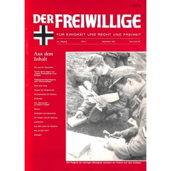 2007160 No. 9-1994 DER FREIWILLIGE - Waffen-SS veteran magazine -