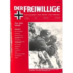 2007161 No. 10-1994 DER FREIWILLIGE - Waffen-SS veteran magazine -
